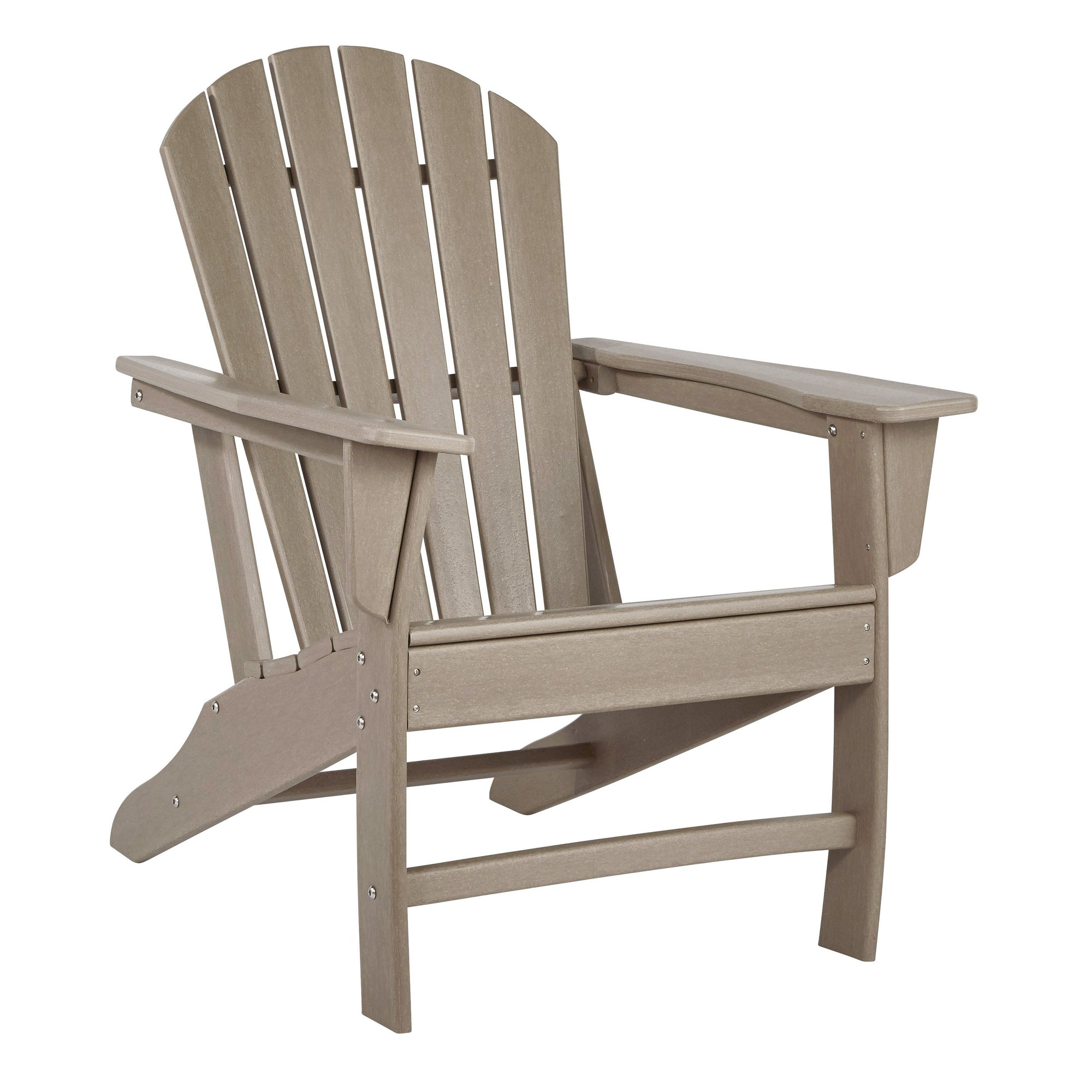 Adirondack Chair Gray Brown