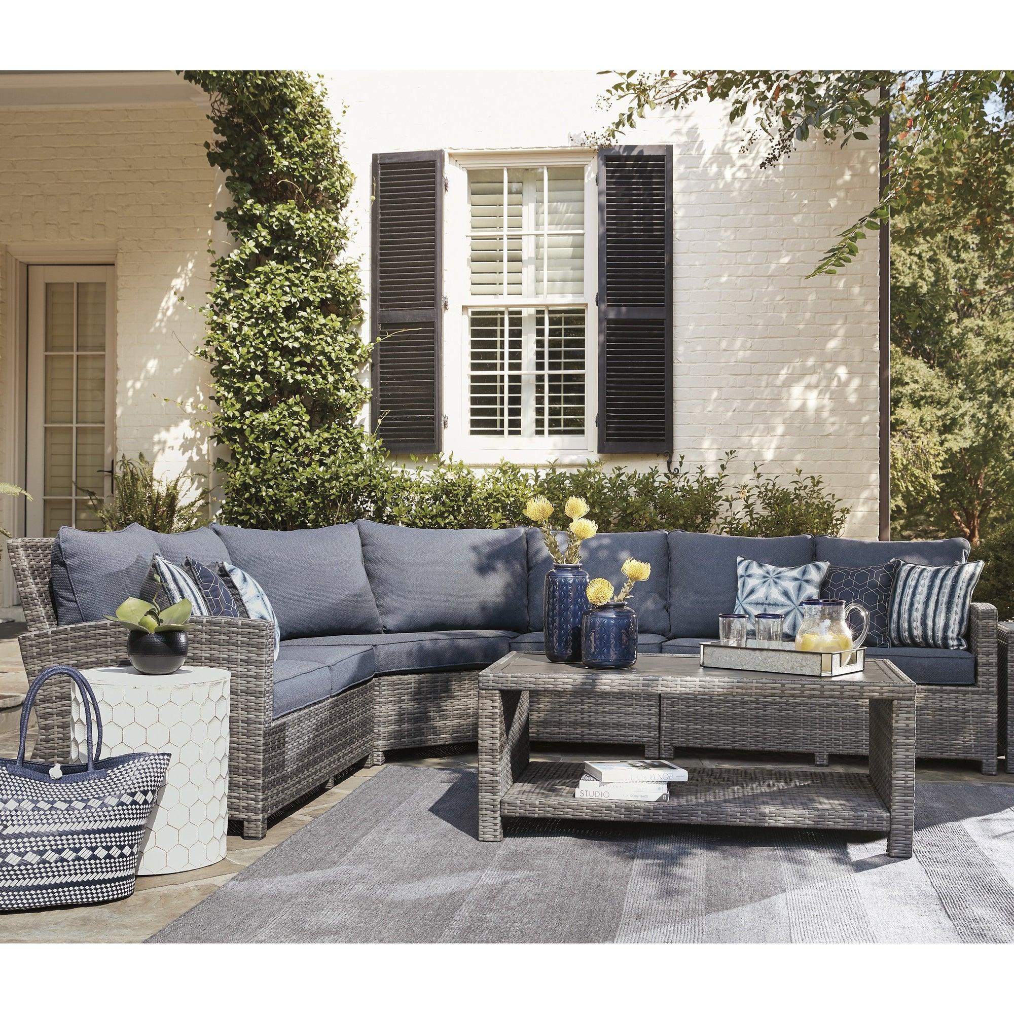 Nantucket 4-Piece Outdoor Sectional