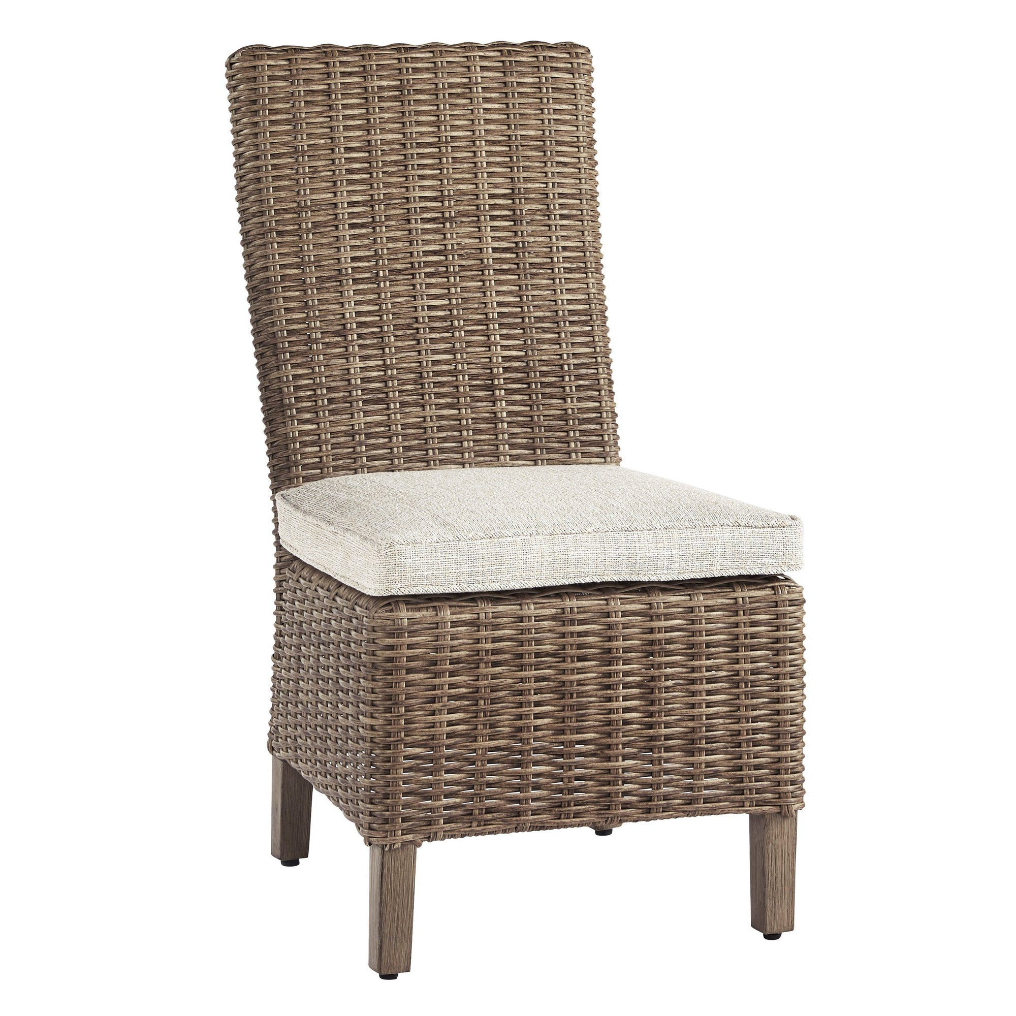 Fire Island Outdoor Side Chair with Cushion