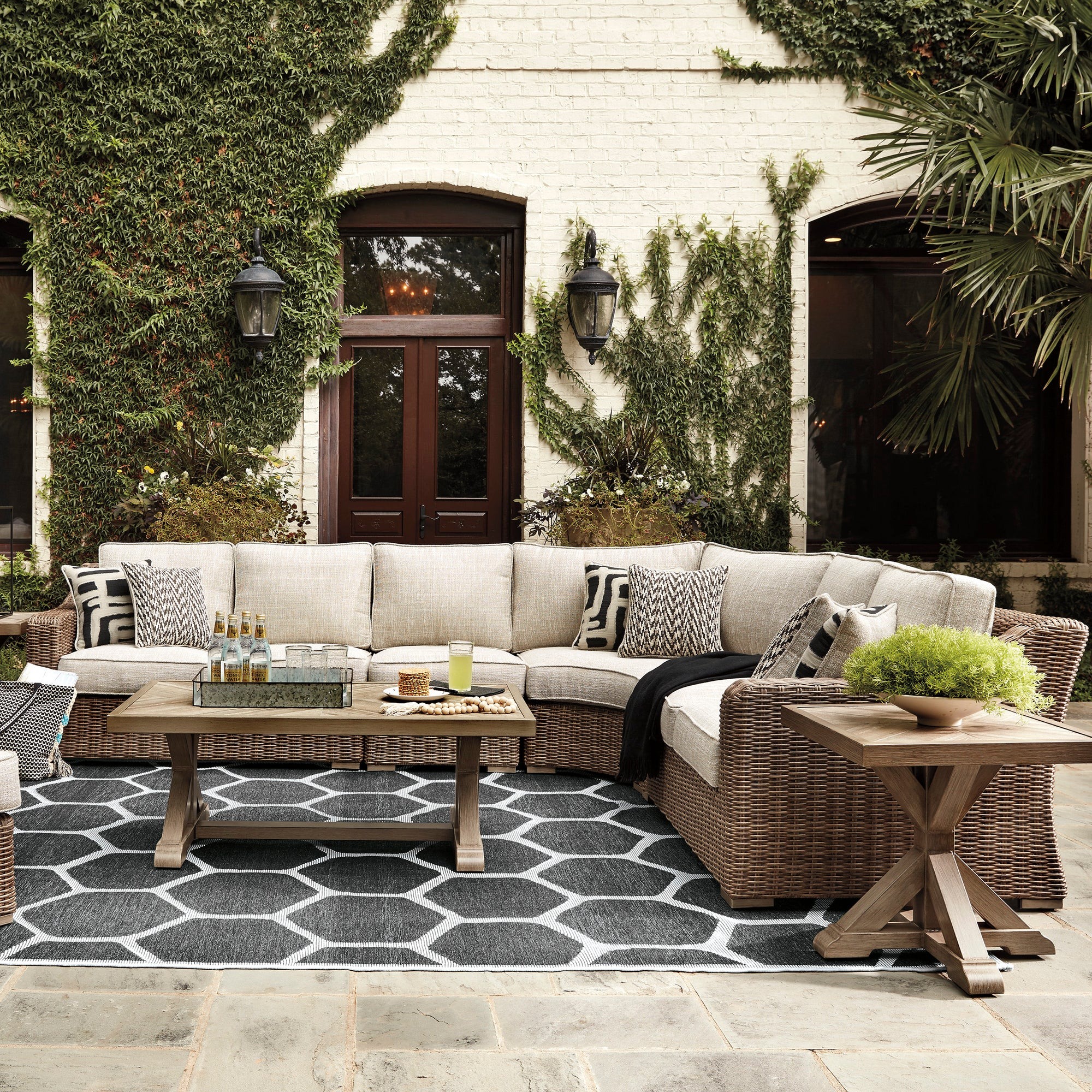Fire Island 4-Piece Outdoor Sectional