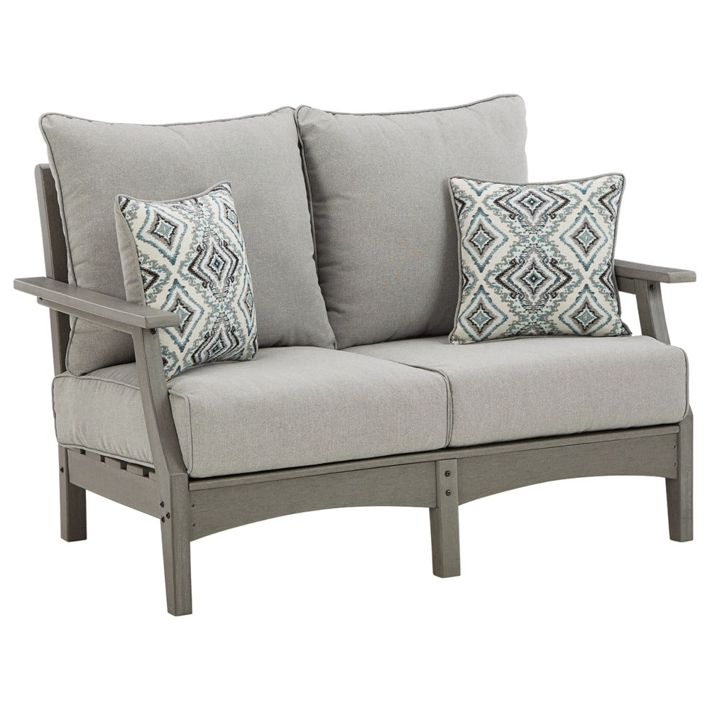 Poly-Outdoor Loveseat