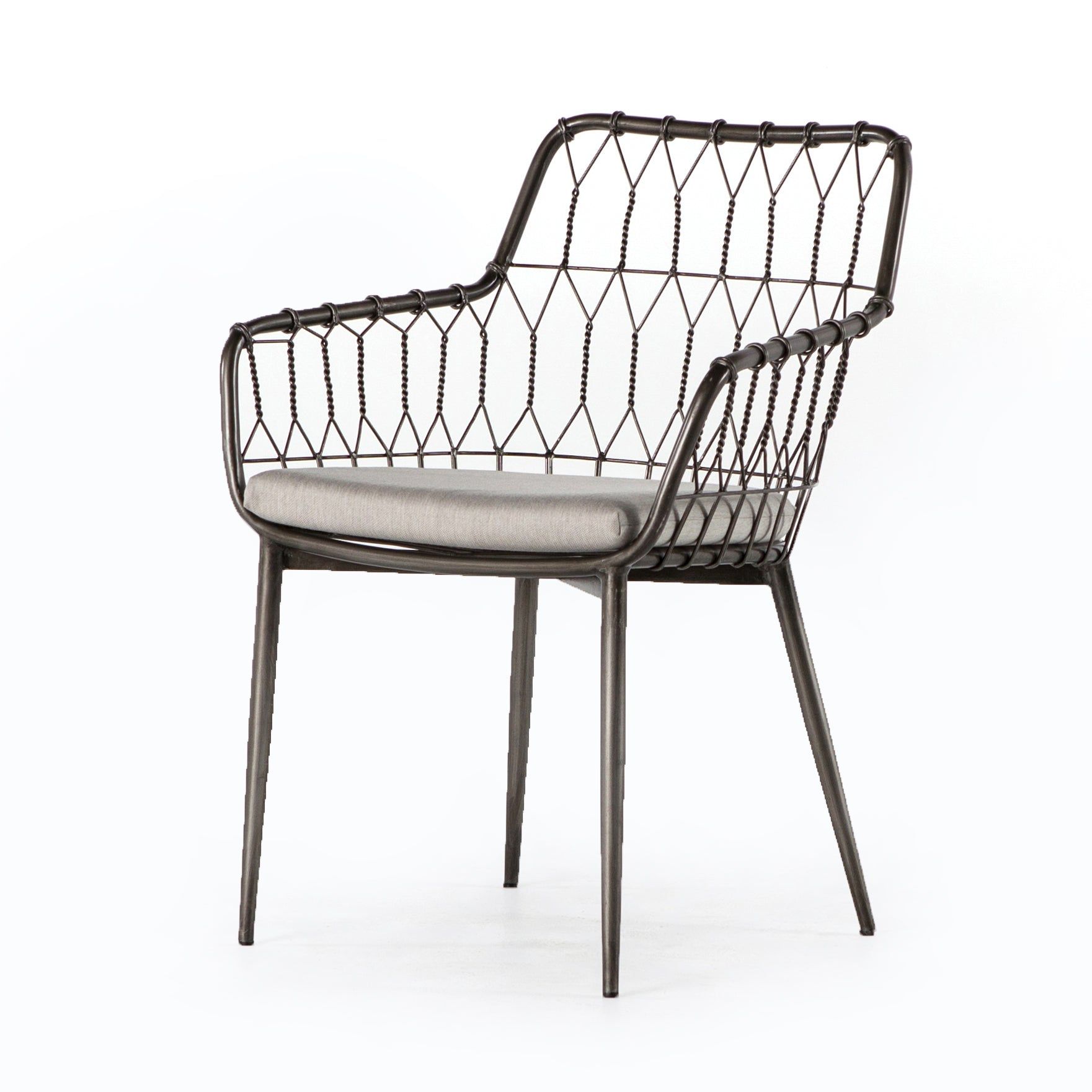 Kade Outdoor Dining Chair - Silver River