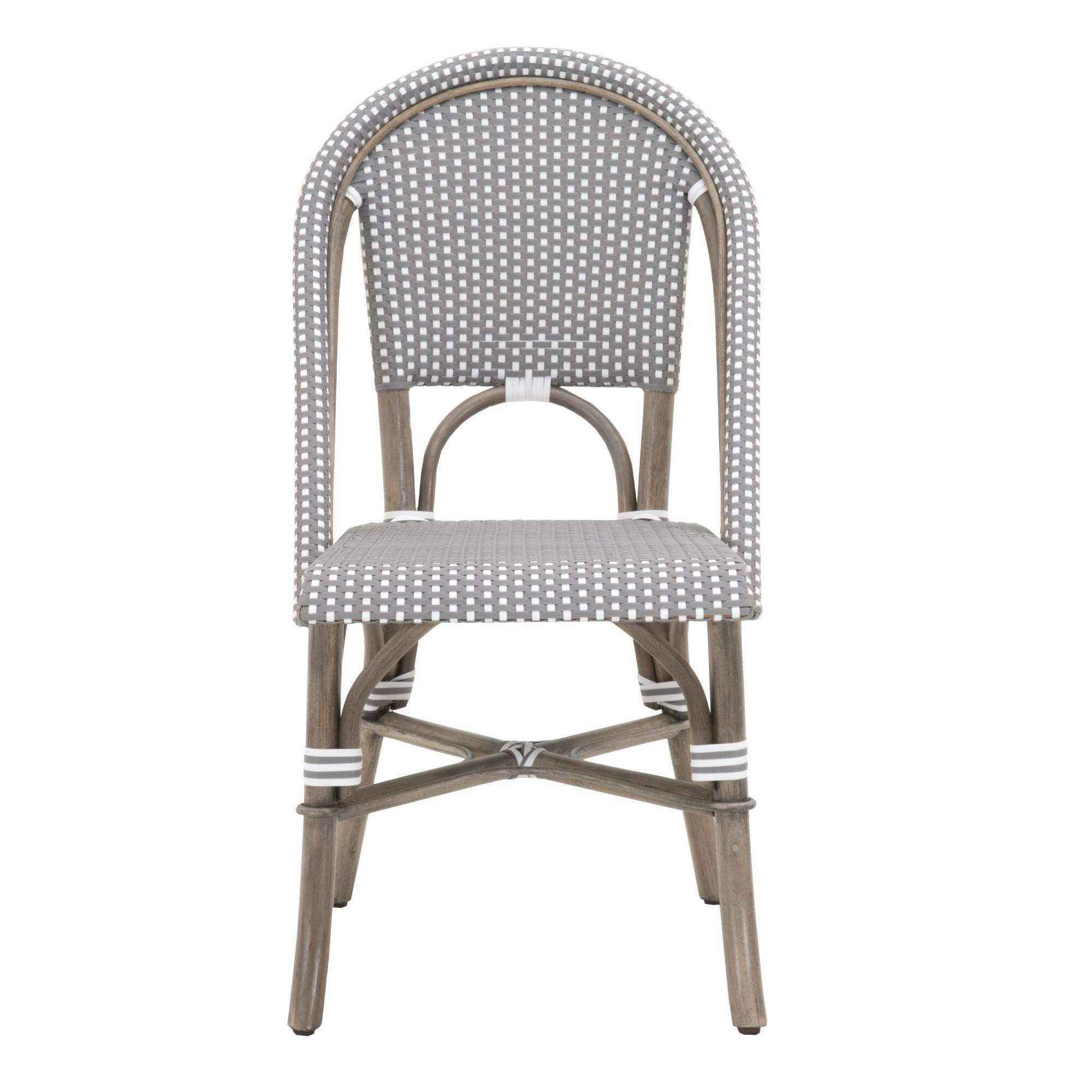 Excellent Paris Dining Chair Set Of 2 In Gray White Check Andrewgaddart Wooden Chair Designs For Living Room Andrewgaddartcom