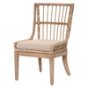 Playa Dining Chair (Set of 2) in Stone Pole Rattan