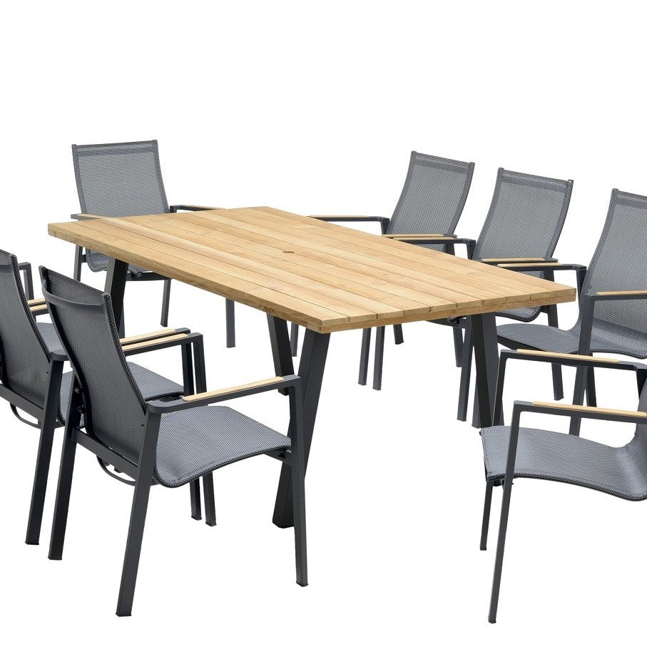 Majorca Reclaimed Teak 7-Piece Outdoor Dining Set