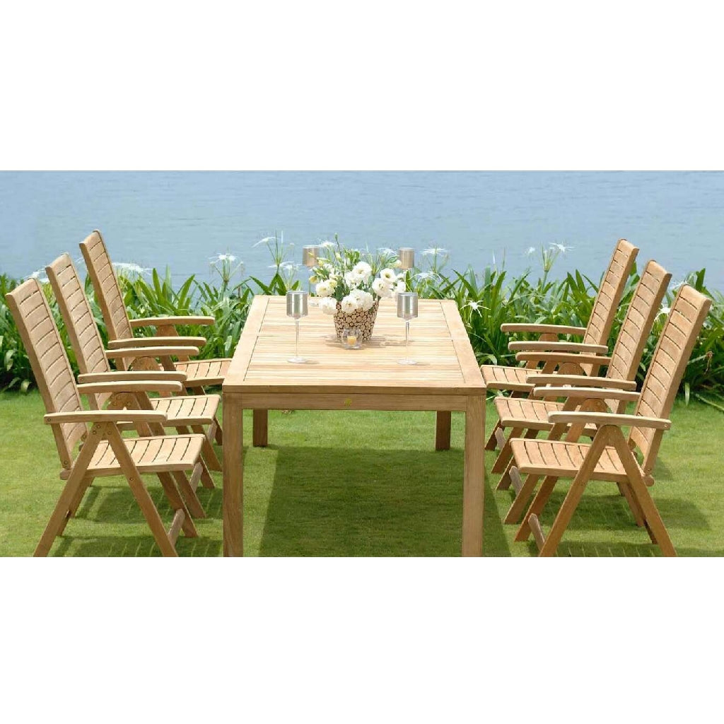 Rinjani Teak 7-Piece Outdoor Dining Set