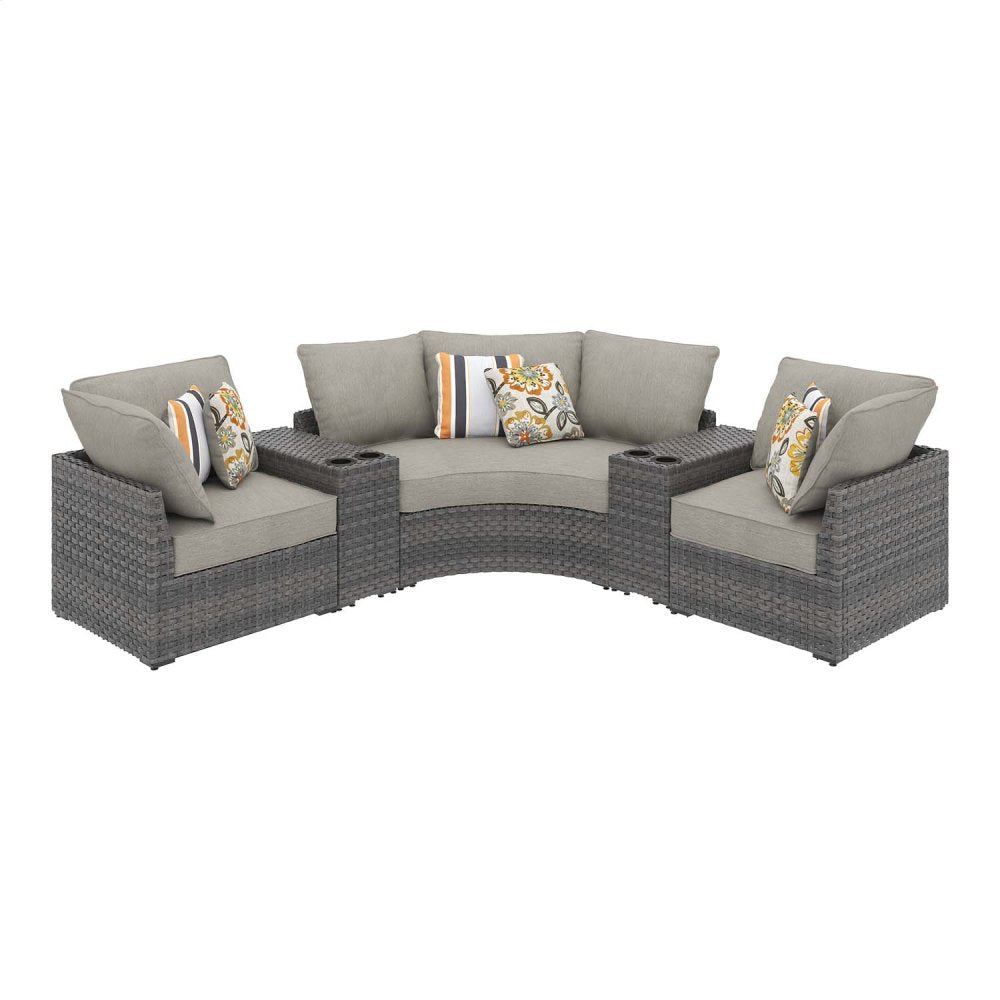 Carmel Curve 5-Piece Outdoor Sectional