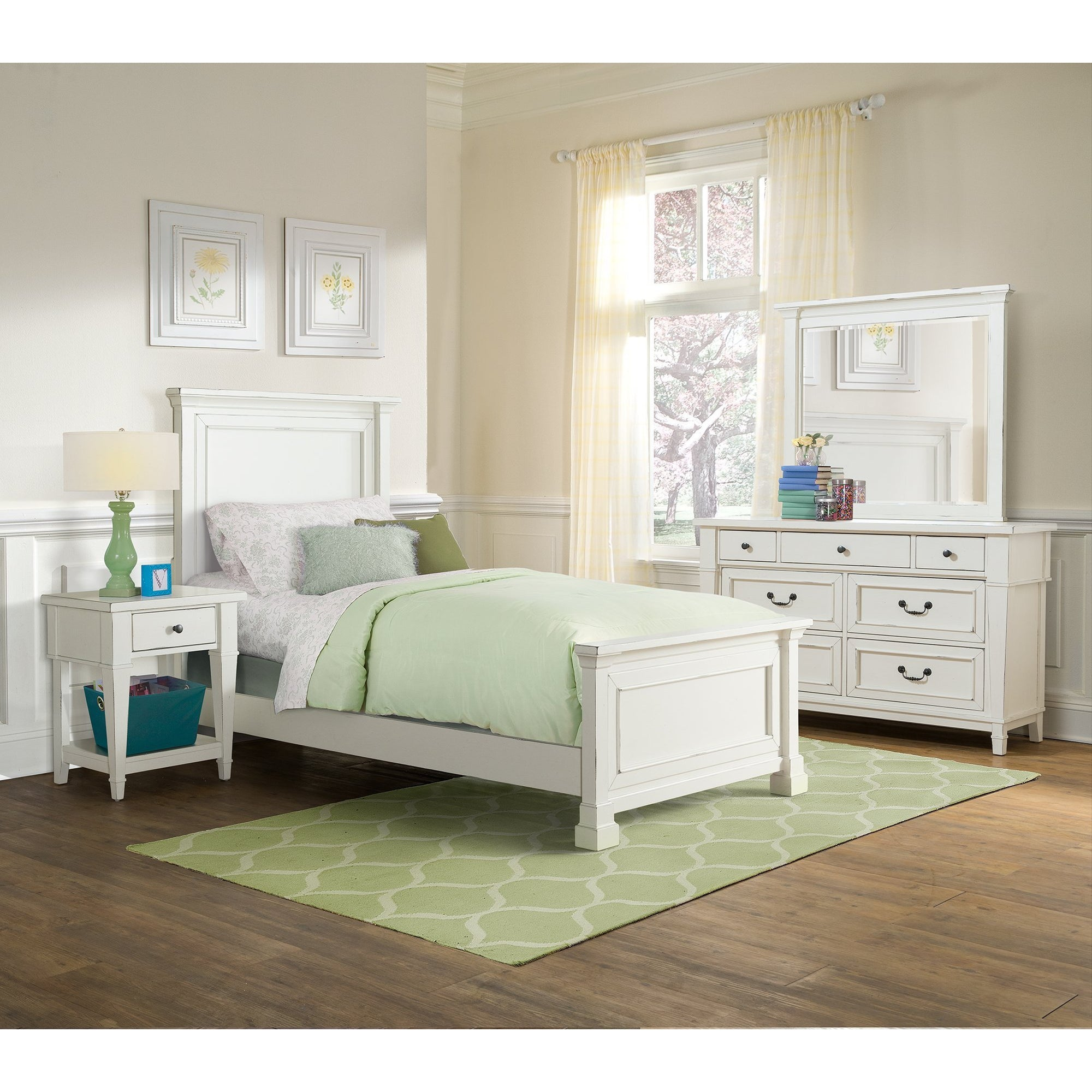 Pebble Creek Youth 4-Piece Bedroom Set