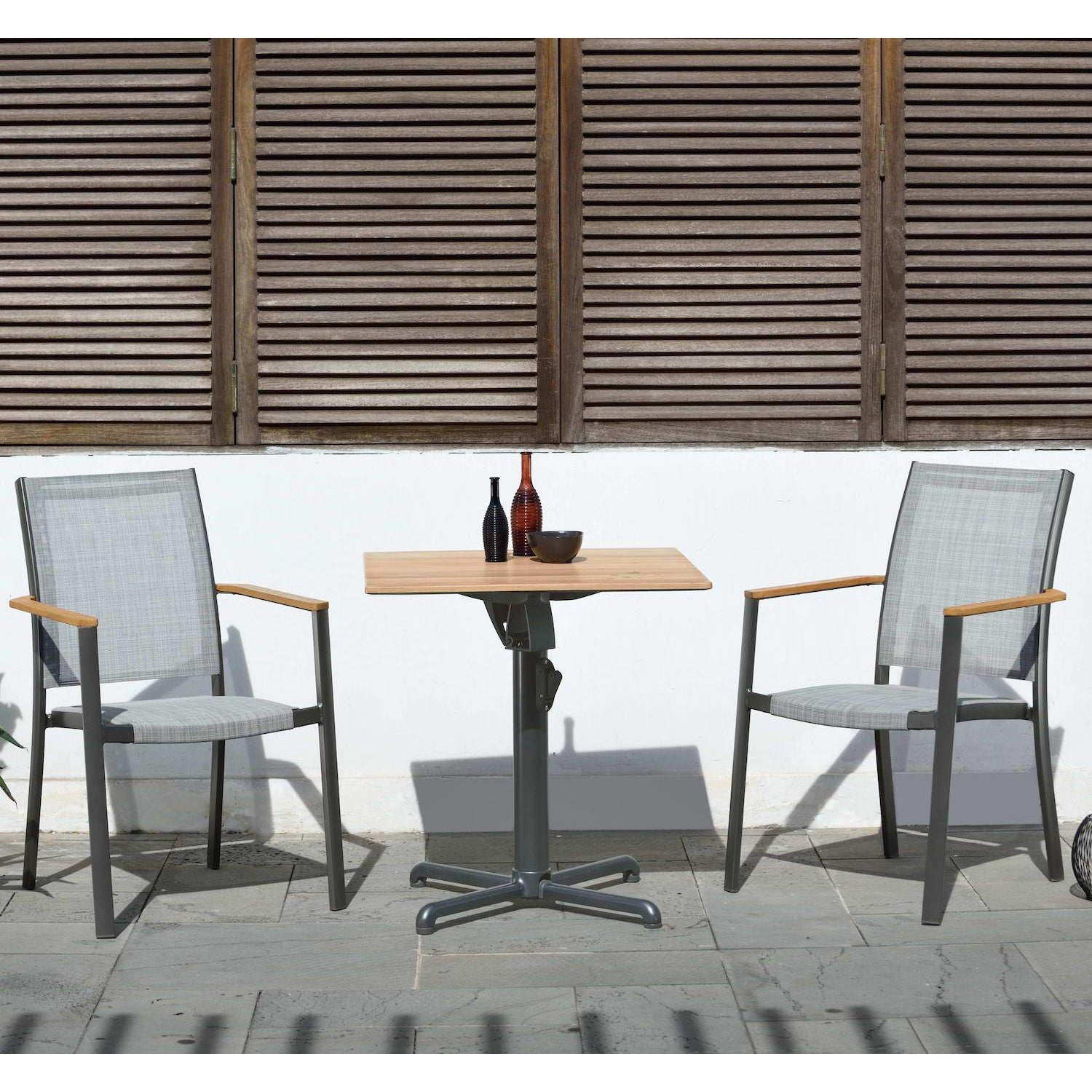 Park Slope 3-Piece Outdoor Bistro Dining Set