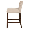 "Soho 30"" Barstool in Almond Fabric"