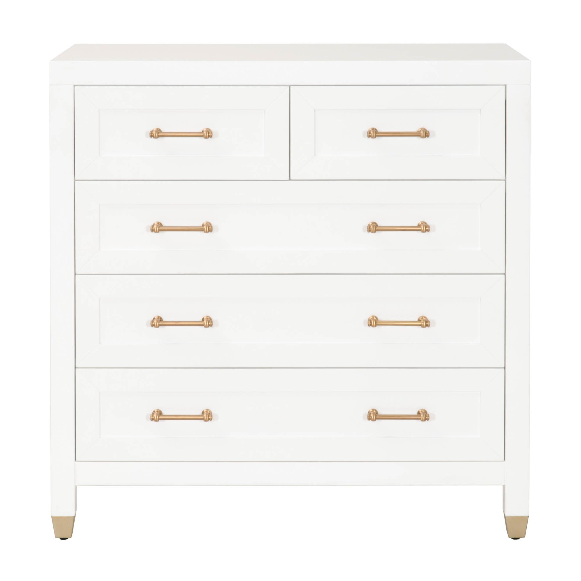 Stella 5-Drawer High Chest