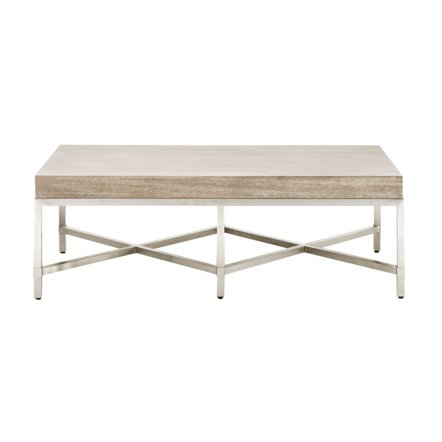 Strand Coffee Table in Natural Gray