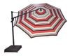 13-Foot Octagonal High-Performance Cantilever Umbrella with Base