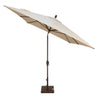 8x10 Foot Rectangular High-Performance Auto-Tilt Umbrella