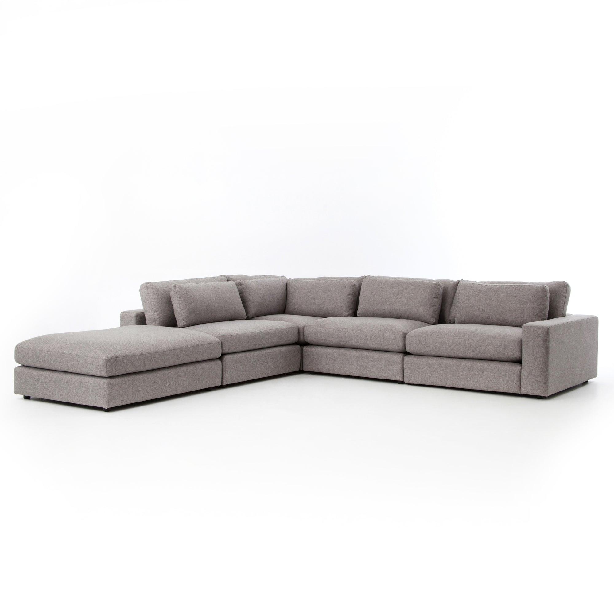 Bloor 4 - Pc Raf Sectional W/ Ottoman - Ches