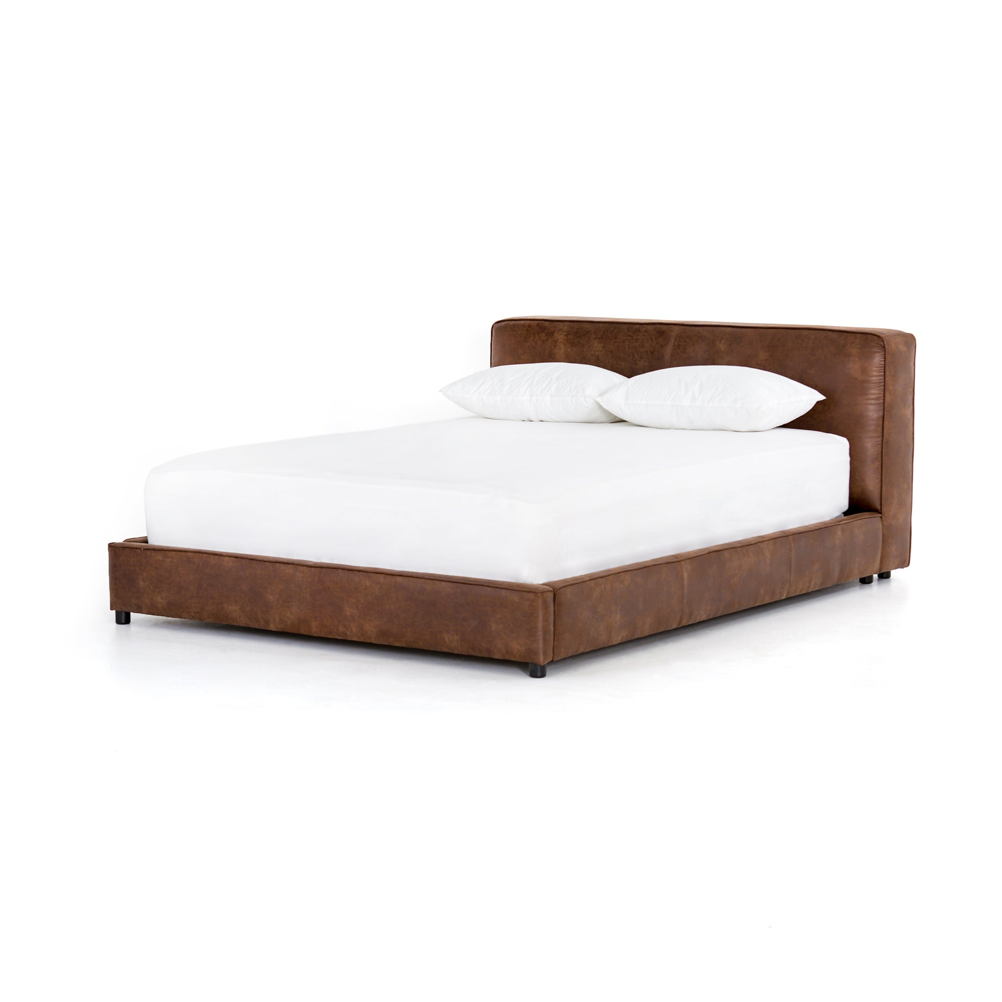 Aidan King Bed - Vintage Tobacco