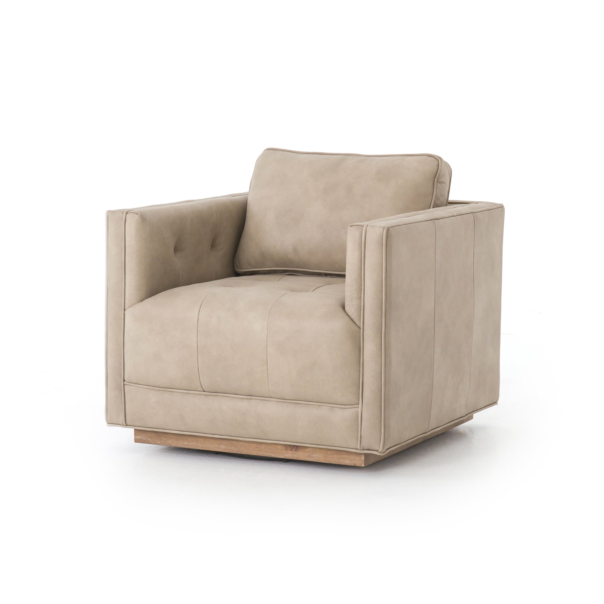 Kiera Swivel Chair - Umber Natural