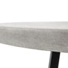 "Cyrus Round Dining Table - 48"" - Grey"