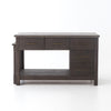 Ian Kitchen Island - Rubbed Black