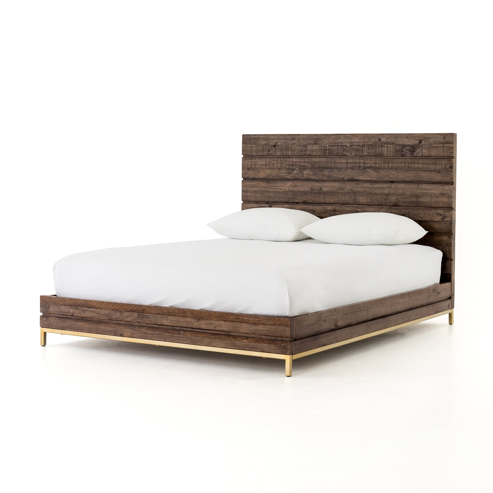 Tiller Queen Bed - Vintage Brown