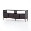 Wyeth Media Console - Dark Carbon