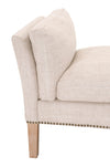 Warner Bench in Bisque French Linen