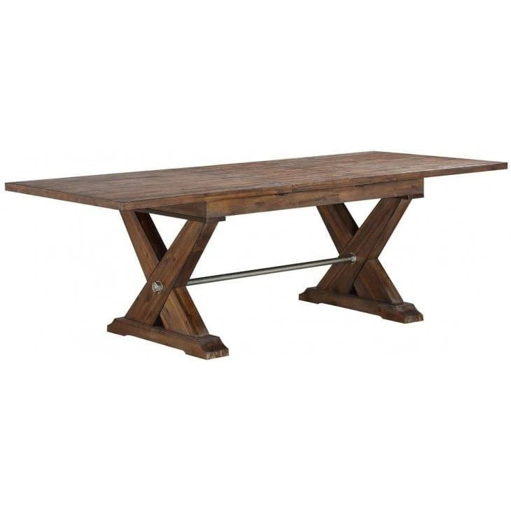 Solid Acacia Extendable Dining Table