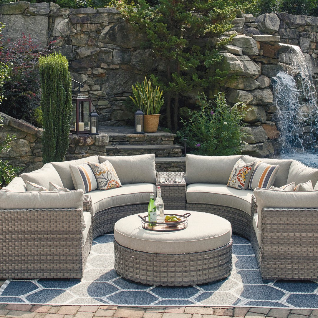 Carmel Curve 8-Piece Outdoor Sectional