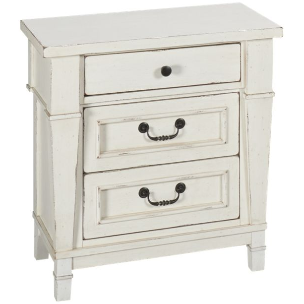 Stoney Creek 3-Drawer Nightstand