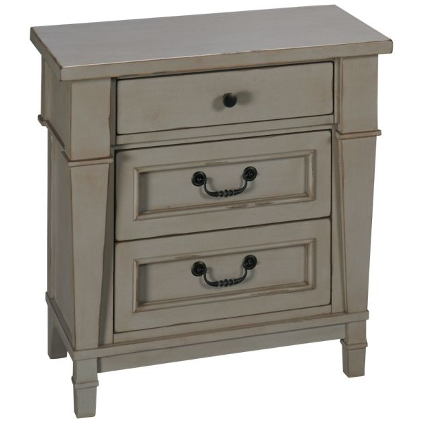 Stone Harbor 3-Drawer Nightstand