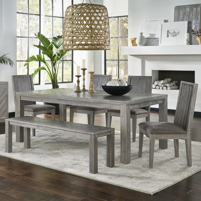 Belle Latte 6-Piece Dining Set