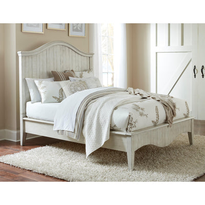 Cottage White Queen Bed