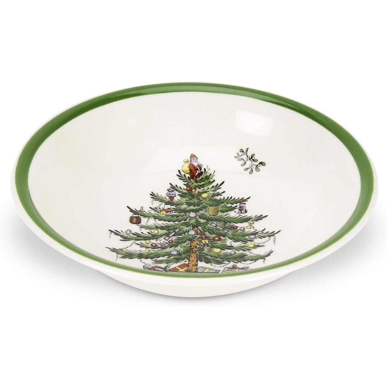 Spode Christmas Tree Cereal/Oatmeal Bowl, Set of 4