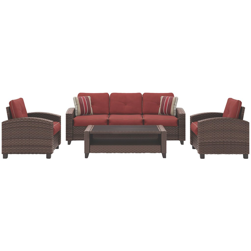 Sunset 4-Piece Outdoor Lounge Set