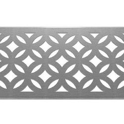 Archez 304 Stainless Steel Channel Drain Grate 125 x 1000mm (5 Inch), Channel Drain Grate - Lateral Design Studio