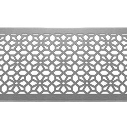Blossom 304 Stainless Steel Channel Drain Grate 125 x 1000mm (5 Inch), Channel Drain Grate - Lateral Design Studio