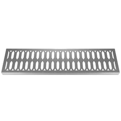 Crystal 304 Stainless Steel Channel Drain Grate 125 x 1000mm (5 Inch), Channel Drain Grate - Lateral Design Studio