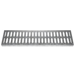 Crystal Galvanised Mild Steel Channel Drain Grate 125mm x 1000mm (5 Inch)