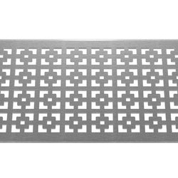 Geo Squares 304 Stainless Steel Channel Drain Grate 125 x 1000mm (5 Inch)
