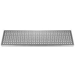 Geo Squares 304 Stainless Steel Channel Drain Grate 125 x 1000mm (5 Inch), Channel Drain Grate - Lateral Design Studio