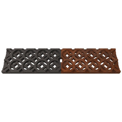 Interlaken Cast Iron Channel Drain Grate 498 x 122 (20 x 5 Inch), Channel Drain Grate - Lateral Design Studio