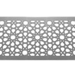 Morisco 304 Stainless Steel Channel Drain Grate 125 x 1000mm (5 Inch), Channel Drain Grate - Lateral Design Studio