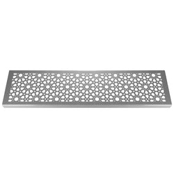 Morisco 304 Stainless Steel Channel Drain Grate 125 x 1000mm (5 Inch)