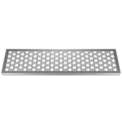 Razor 304 Stainless Steel Channel Drain Grate 125 x 1000mm (5 Inch), Channel Drain Grate - Lateral Design Studio