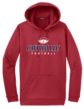 Load image into Gallery viewer, Catholic Football Hooodie (2 Colors)