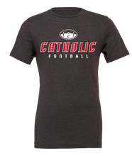Load image into Gallery viewer, Catholic Football Tee (3 Colors)