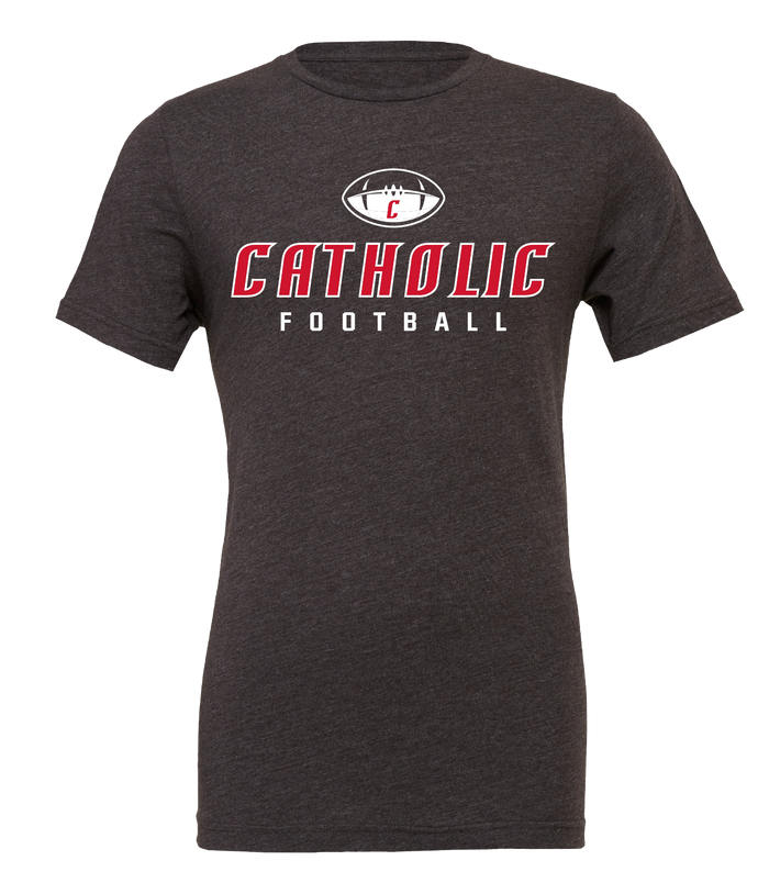 Catholic Football Tee (3 Colors)