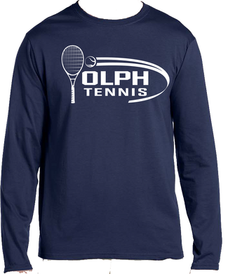 Long Sleeve Softstyle Tennis Tee