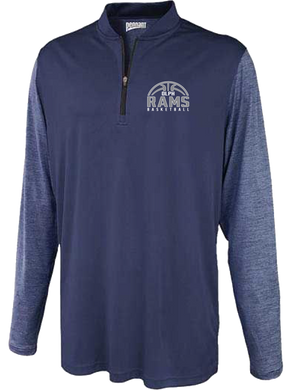Basketball Team Polaris Warmup 1/4 zip