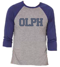 Load image into Gallery viewer, School Chevron 3/4 sleeve Baseball Tee 2 colors